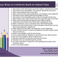 Back to School!  20+ Ways to Celebrate