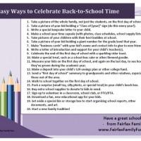 Back to School! 20+ Ways to Celebrate