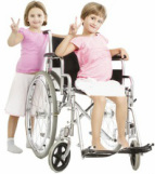 A new page for kids with disabilities and special needs!