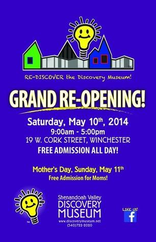 Shenandoah Valley Discovery Museum for kids children STEM Winchester VA NOVA Family Fun