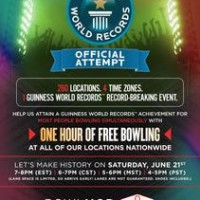 You can help set a bowling world record on June 21!