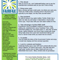 Celebrate Fairfax festival:  our top tips!