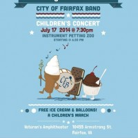 City of Fairfax Band Assoc. hosts kids' concert July 17