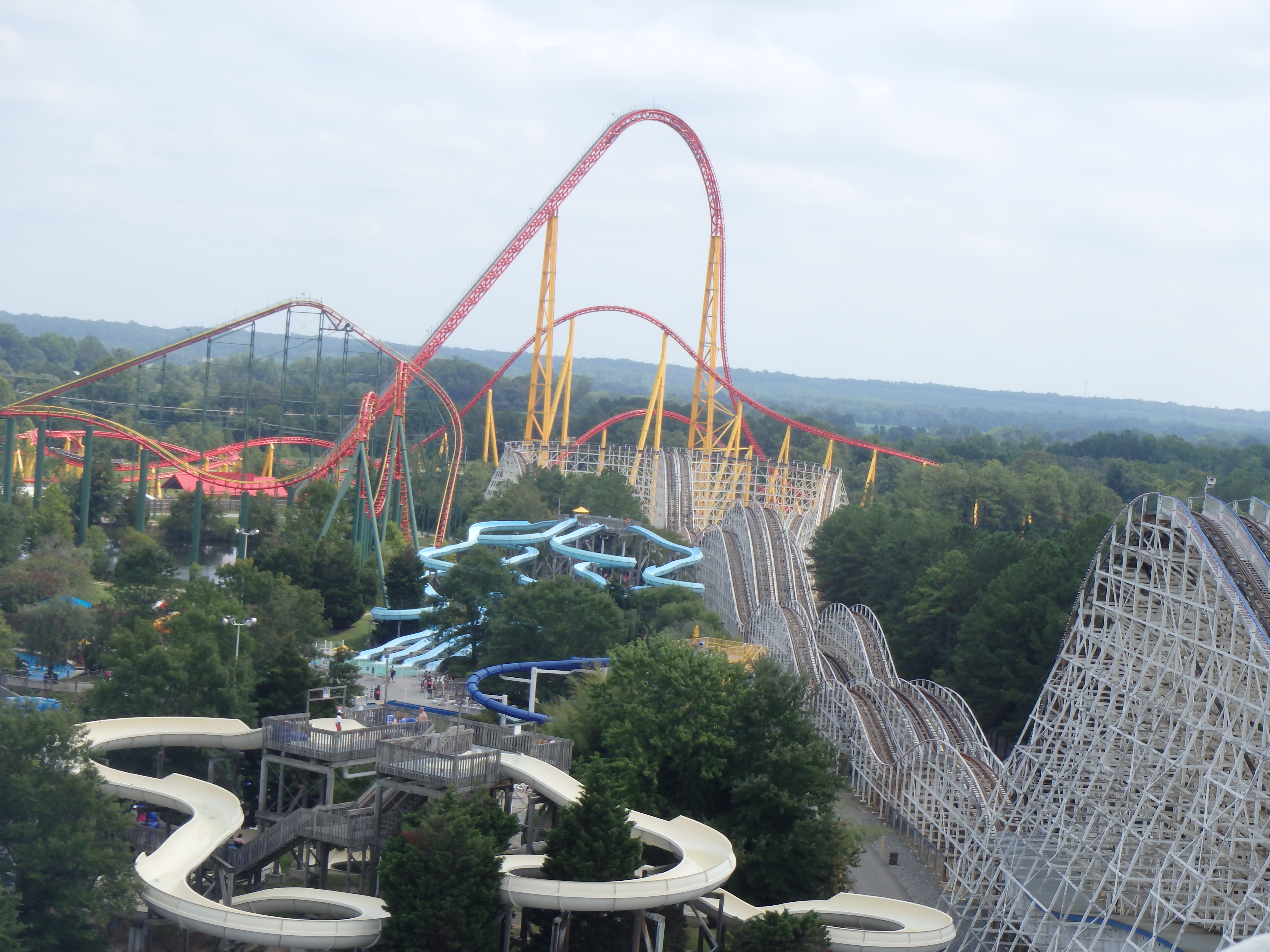 a first timers visit to kings dominion fairfax family fun