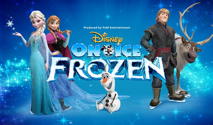 Frozen, Frozen movie, Disney on Ice, ice skating, live show, Feld entertainment, giveaway, free tickets, Olaf, Anna, Elsa, ice queen, sisters, love