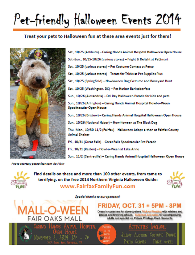 share the post pet friendly halloween events about in northern virginia - Halloween Northern Virginia