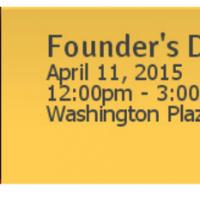 Celebrate Reston's birthday at Founder's Day April 11, 2015
