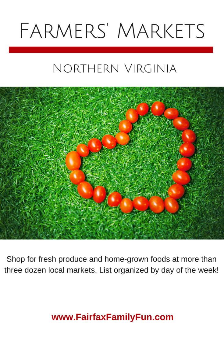 Farmers Markets in Northern Virginia