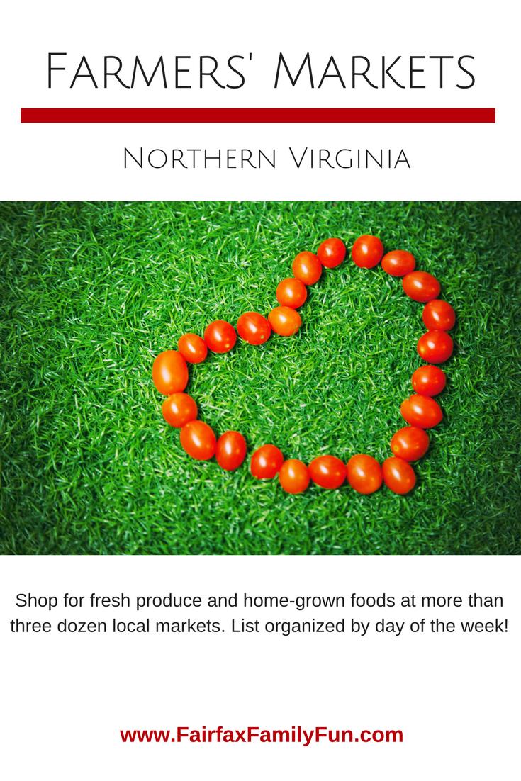 Farmers Markets in Northern Virginia