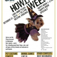 HOWL-O-WEEN returns to Lake Anne Plaza October 31
