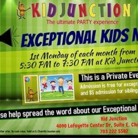 Kid Junction Chantilly hosting Exceptional Kids Nights