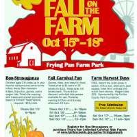 Fall fun at Frying Pan Farm Park, Oct. 16-18, 2015