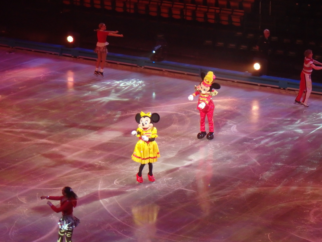 Mickey Mouse Minnie Mouse Disney on Ice