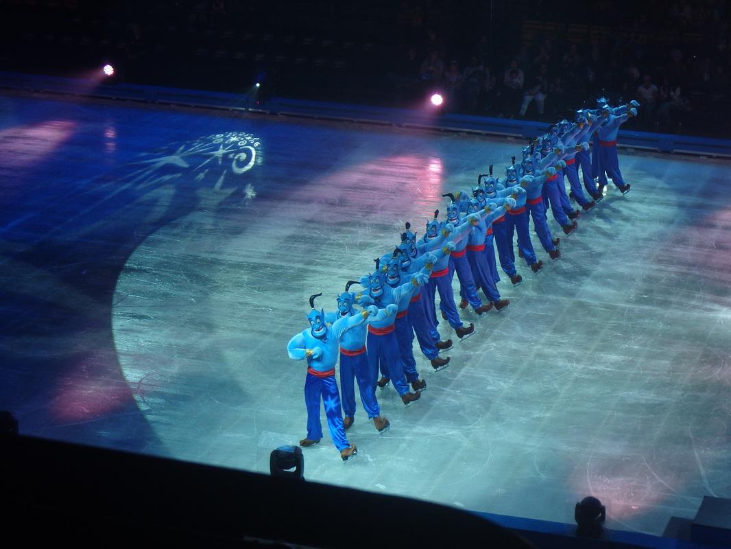 Genie Aladdin Disney on Ice