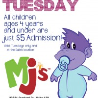 Monkey Joe's Dulles announces $5 Toddler Tuesdays