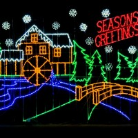 Bull Run Festival of Lights: drive-through family fun!