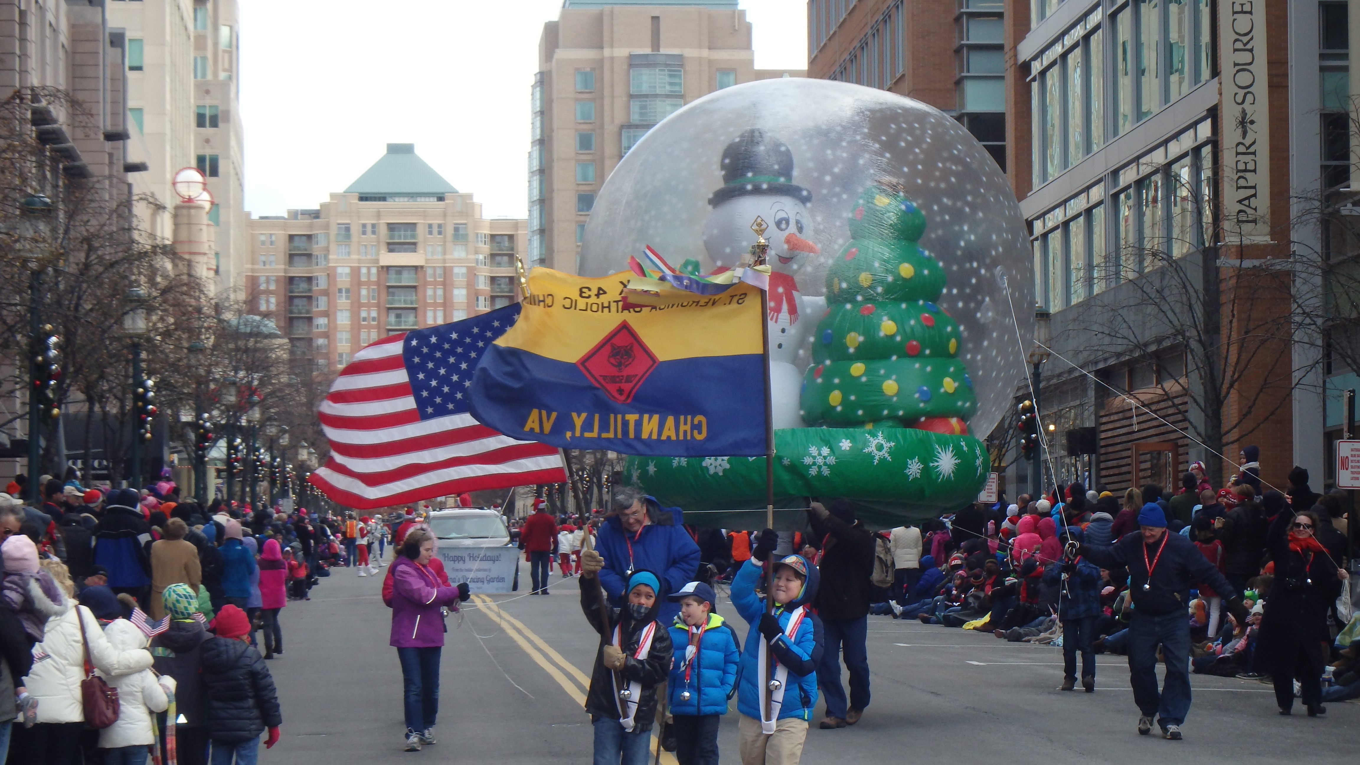 Image result for reston town center holiday parade