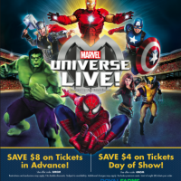 Marvel Universe LIVE! in Baltimore Dec. 2015