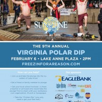 Virginia Polar Dip: Freezin' for a Reason