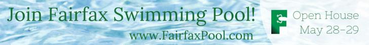 Fairfax Swimming Pool banner ad