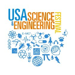 Logo for the STEM event USA Science & Engineering Festival