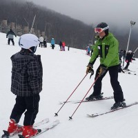 Winter weekend away at Wintergreen Resort