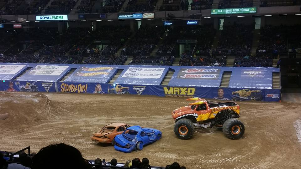 Review Of Monster Jam At Royal Farms Arena