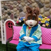 The Easter Bunny awaits you at Fair Oaks Mall