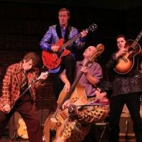 Music legends meet in Million Dollar Quartet at Warner Theatre