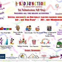 Kid Junction to host all-day anniversary celebration