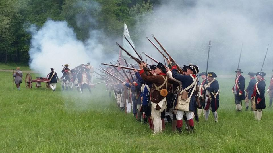 Revolutionary War weekend at Mount Vernon
