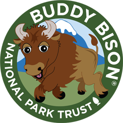 Buddy Bison Kids to Parks Day logo