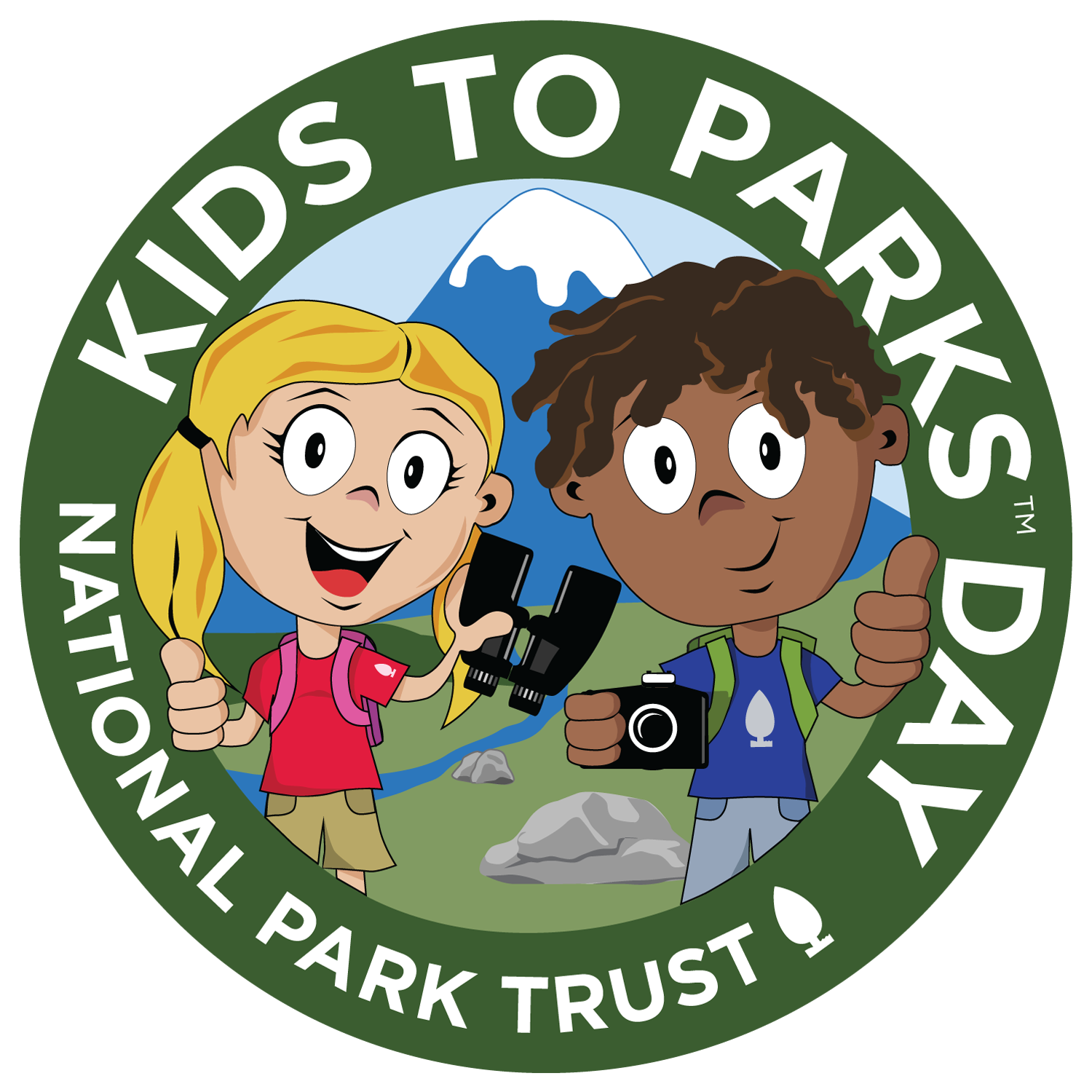National Kids to Parks Day logo