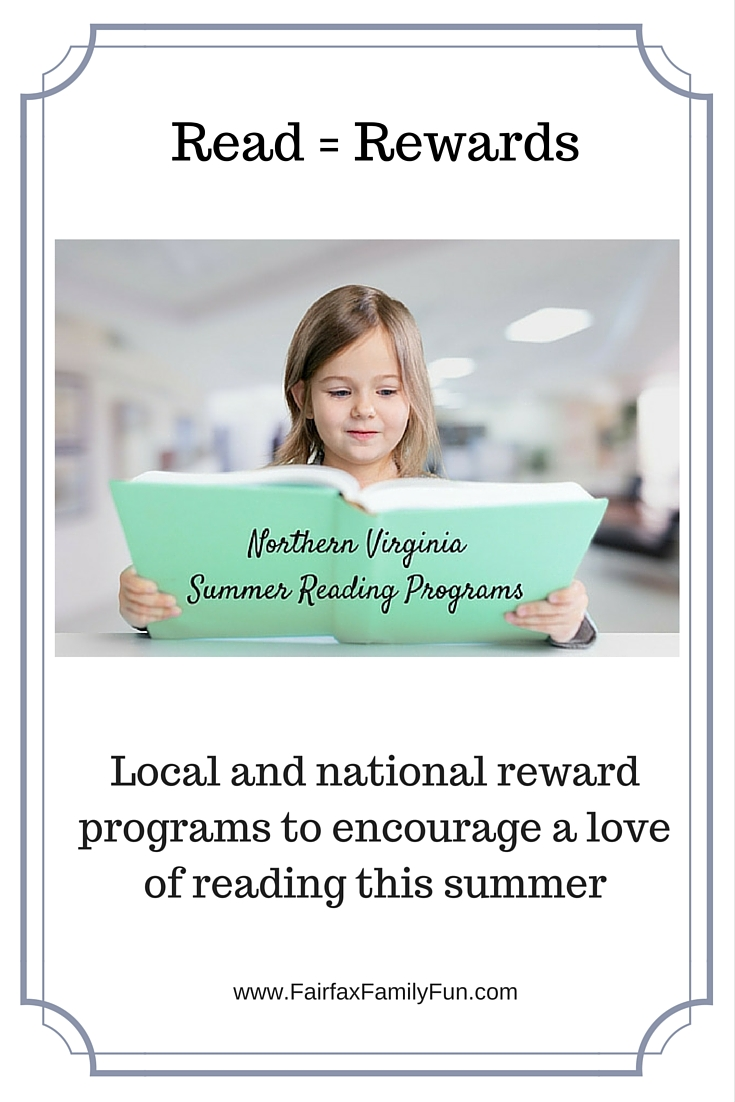 Summer reading programs in Northern Virginia