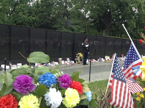 Memorial Day at the Vietnam Veterans Memorial