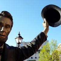Family travel:  Downtown Gettysburg, Pennsylvania
