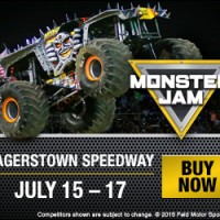 Monter Jam comes to Hagerstown Speedway!