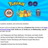 Fairfax County to host Pokemon GO event