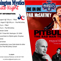 Sports and music: Washington Mystics have a great offer for both