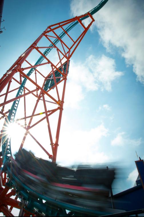 Busch Gardens roller coaster Williamsburg