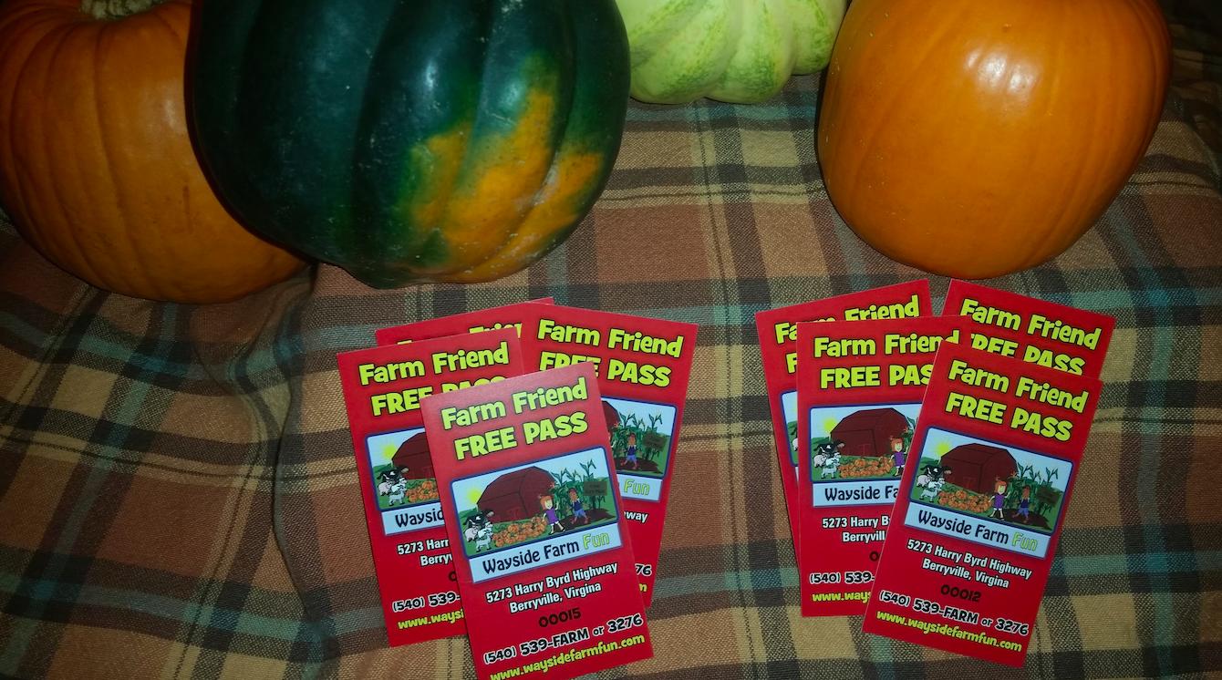 Wayside Farm Fun tickets