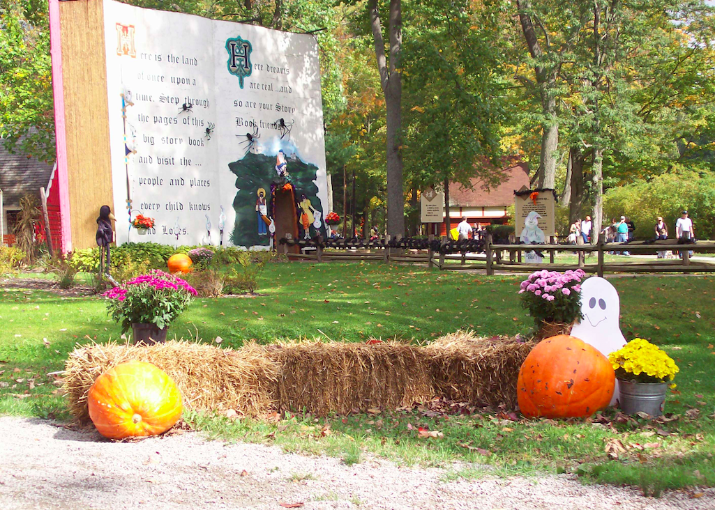 Story Book Forest at Halloween at Idlewild (photo: Idlewild)