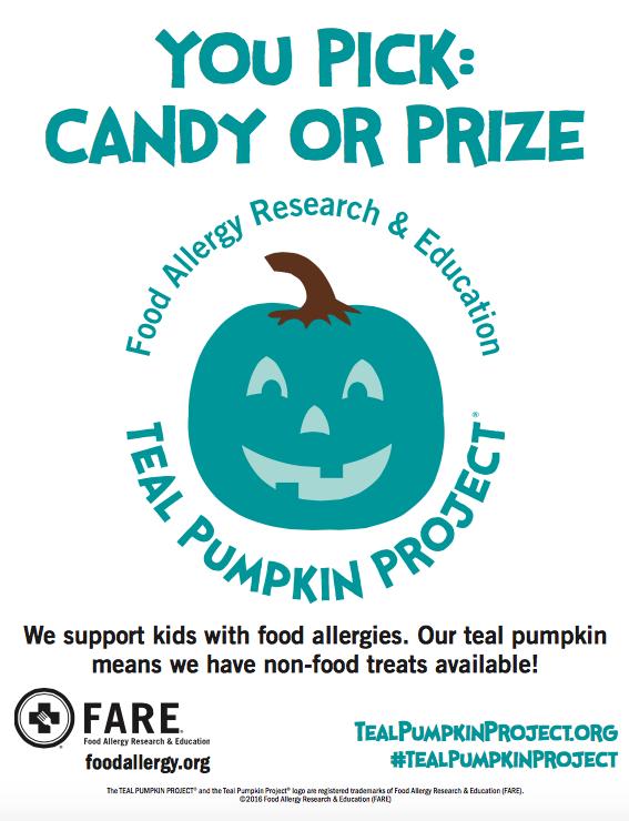 FARE-teal-pumpkin-allergy friendly-halloween-allergies