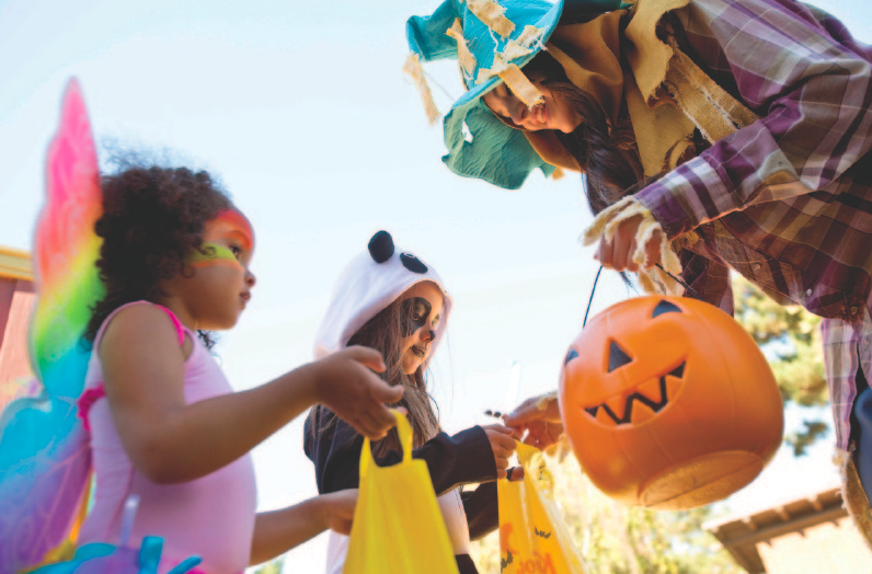 Trick-or-treat at The Great Pumpkin Fest (photo: Kings Dominion)