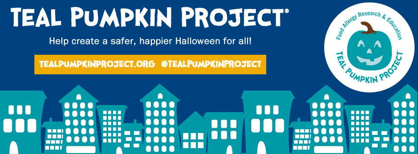 Teal Pumpkin Project cover image with logo and links