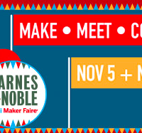 Barnes & Noble stores host Mini Maker Faire events