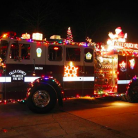 Santa to visit neighborhoods on fire trucks!
