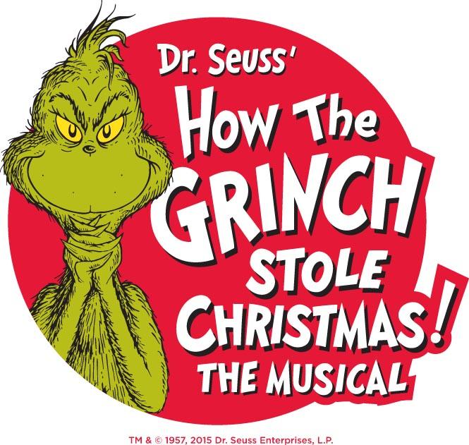 Logo for Grinch musical