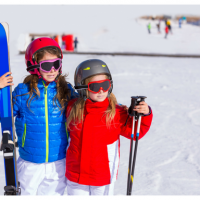 U.S. states that offer free skiing for kids