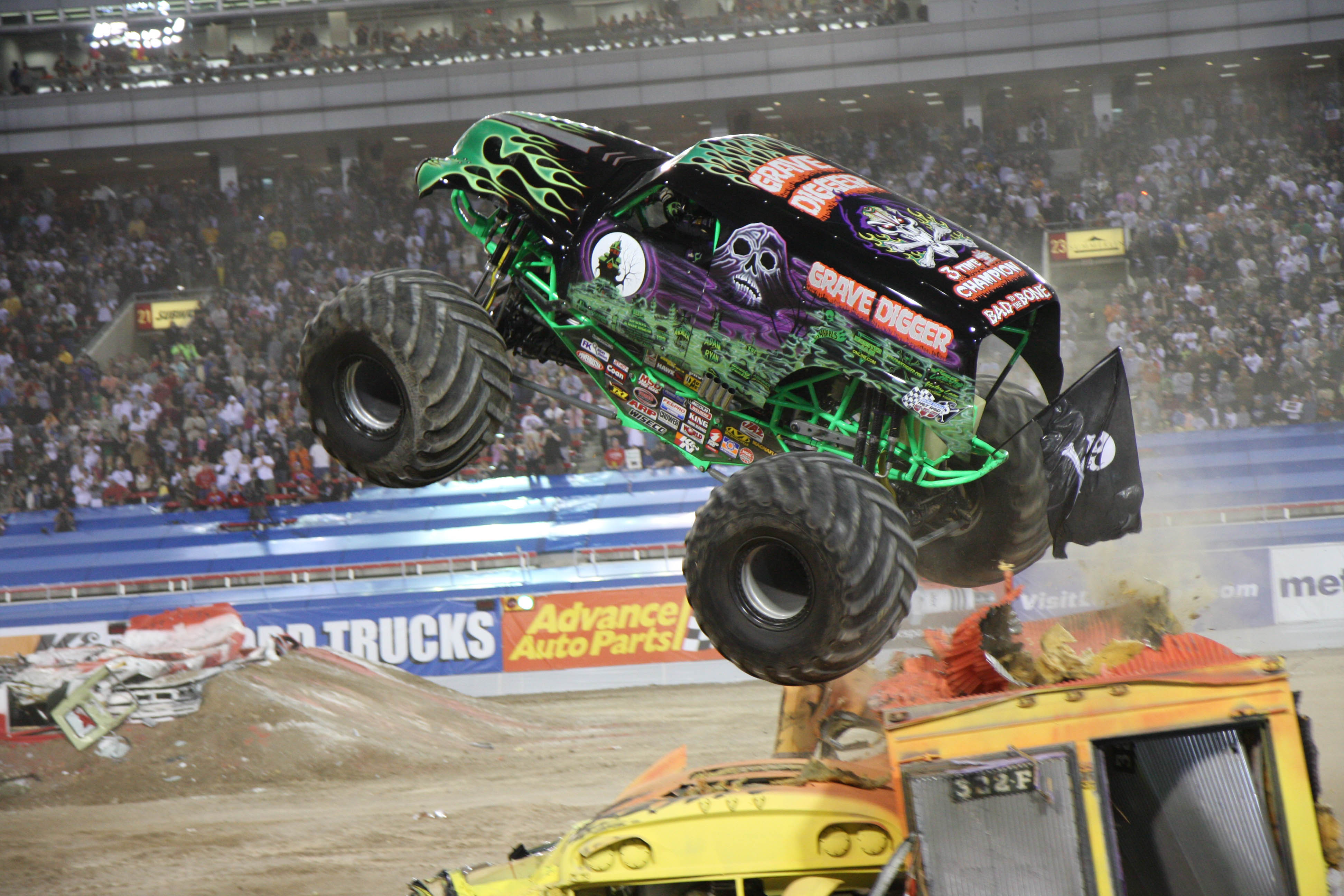 Monster jam grave digger monster truck